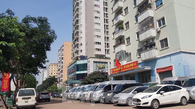 Cận cảnh khu đất công làm bãi xe biến hình thành cao ốc ở Hà Nội - Ảnh 13.