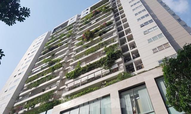 Cận cảnh khu đất công làm bãi xe biến hình thành cao ốc ở Hà Nội - Ảnh 5.