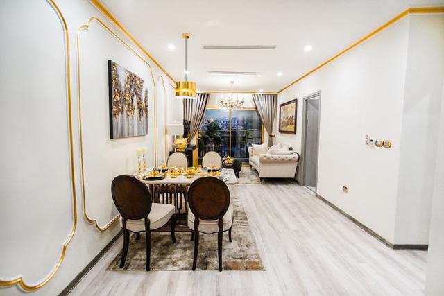 Cận cảnh căn hộ ở Hà Nội được dát vàng, giá siêu đắt 150 triệu đồng/m2 - Ảnh 5.