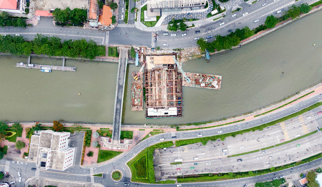 Toàn cảnh công trình chống ngập 10.000 tỷ đồng sắp hoàn thành sau 4 năm thi công ở Sài Gòn - Ảnh 1.