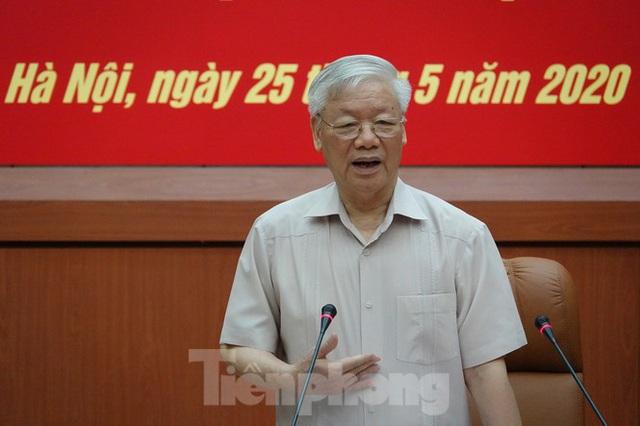 Tổng Bí thư Nguyễn Phú Trọng: Không che giấu khuyết điểm, chạy theo thành tích - Ảnh 1.