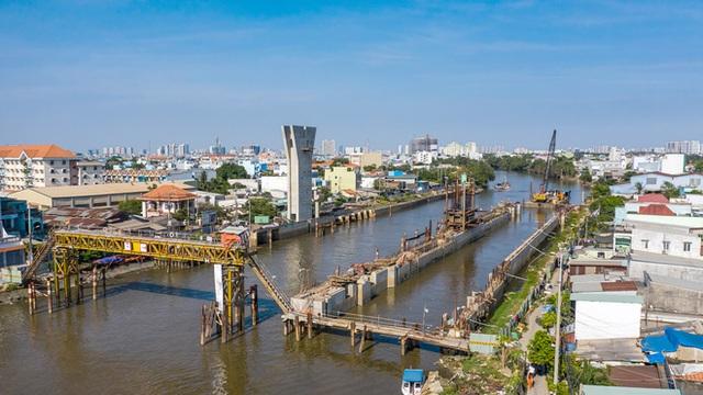 Toàn cảnh công trình chống ngập 10.000 tỷ đồng sắp hoàn thành sau 4 năm thi công ở Sài Gòn - Ảnh 29.