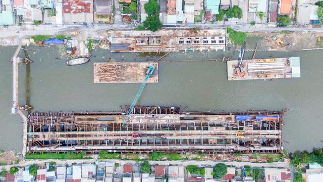 Toàn cảnh công trình chống ngập 10.000 tỷ đồng sắp hoàn thành sau 4 năm thi công ở Sài Gòn - Ảnh 30.