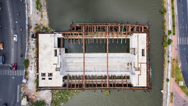 Toàn cảnh công trình chống ngập 10.000 tỷ đồng sắp hoàn thành sau 4 năm thi công ở Sài Gòn - Ảnh 4.