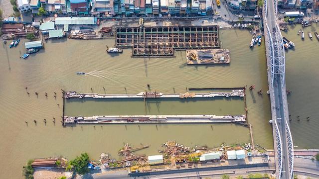 Toàn cảnh công trình chống ngập 10.000 tỷ đồng sắp hoàn thành sau 4 năm thi công ở Sài Gòn - Ảnh 8.