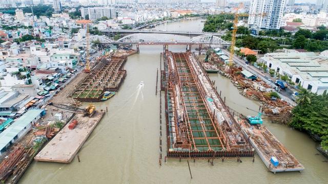 Toàn cảnh công trình chống ngập 10.000 tỷ đồng sắp hoàn thành sau 4 năm thi công ở Sài Gòn - Ảnh 9.