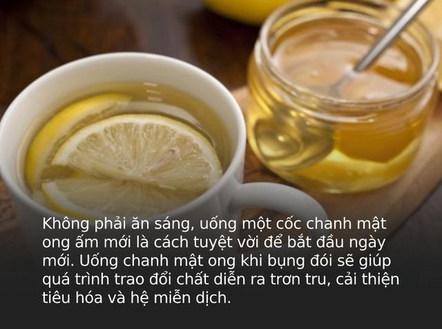 Uống 1 cốc chanh mật ong sau khi ngủ dậy rất tốt nhưng nên uống trước hay sau khi ăn sáng mới THỰC SỰ đại bổ? - Ảnh 1.