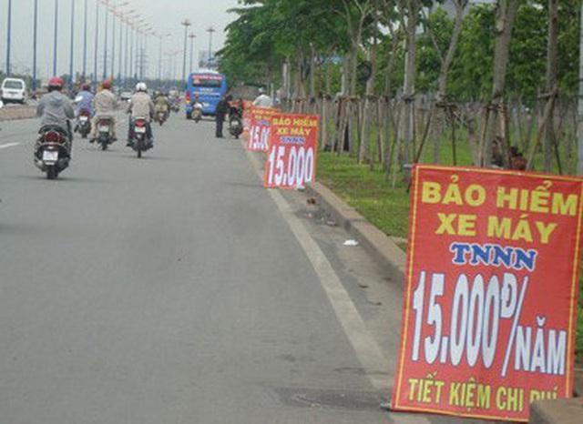 Mua bảo hiểm xe máy ở lề đường có được bồi thường? - Ảnh 1.
