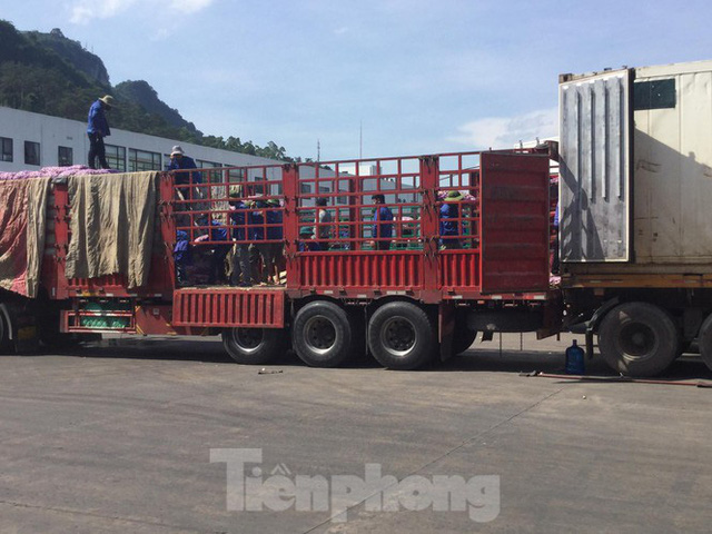 Nhiều cửa khẩu phụ ở Lạng Sơn vẫn chưa mở trở lại - Ảnh 2.