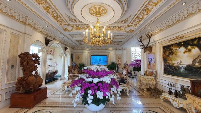 Sau biệt thự dát vàng mọi ngõ ngách, đại gia Hải Dương sắp ra mắt lâu đài 10 triệu USD - Ảnh 3.
