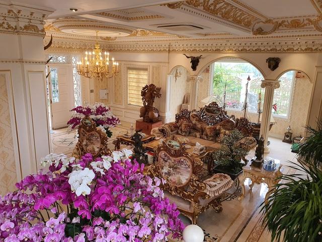 Sau biệt thự dát vàng mọi ngõ ngách, đại gia Hải Dương sắp ra mắt lâu đài 10 triệu USD - Ảnh 6.