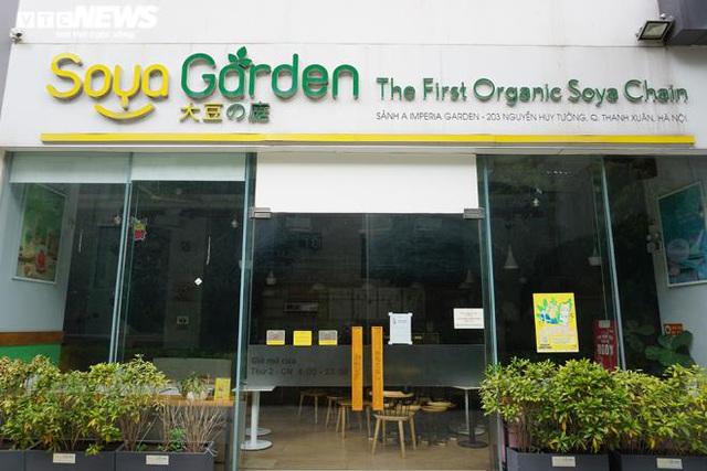 Hàng loạt cửa hàng Soya Garden tại Hà Nội ngừng hoạt động - Ảnh 1.