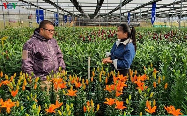 Doanh thu ngành hoa cao nhất trong tất cả các loại cây trồng - Ảnh 1.