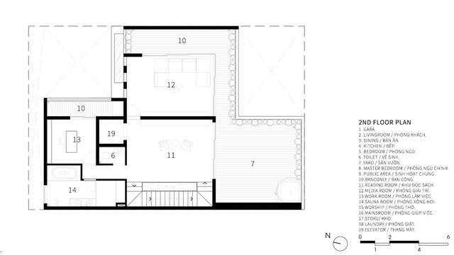 Căn biệt thự 4 tầng, rộng mênh mông ở Đà Nẵng - Ảnh 13.