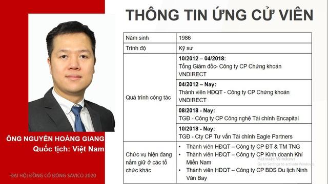 Sau biến động lớn về sở hữu tại Savico: Cựu CEO VNDirect Nguyễn Hoàng Giang cùng đại diện DNP Water tham gia HĐQT - Ảnh 1.