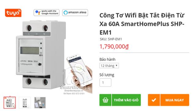 Nhức túi với tiền điện, nhiều người mua công tơ điện có wifi điều khiển bằng giọng nói nhờ trợ lý ảo - Ảnh 1.