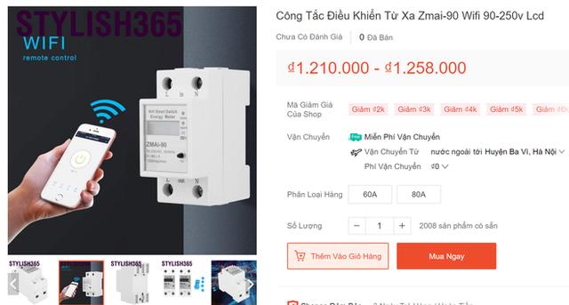 Nhức túi với tiền điện, nhiều người mua công tơ điện có wifi điều khiển bằng giọng nói nhờ trợ lý ảo - Ảnh 2.