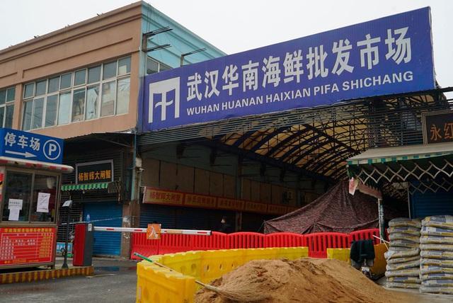 """""""Chợ Vũ Hán không phải nơi bắt nguồn mà là nơi siêu lây lan Covid-19"""" - Ảnh 1."""