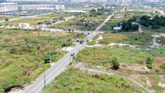 Cận cảnh khu đất 4,3ha ngoài ranh quy hoạch Thủ Thiêm người dân được hoán đổi - Ảnh 13.