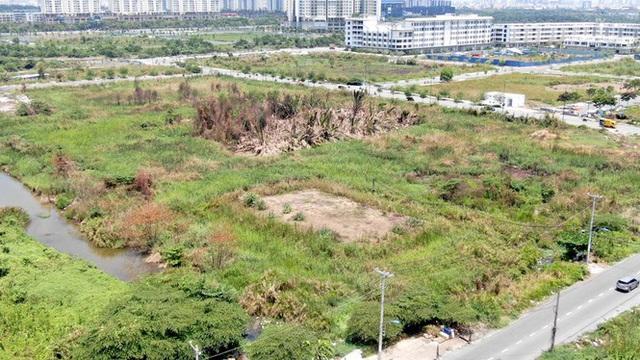 Cận cảnh khu đất 4,3ha ngoài ranh quy hoạch Thủ Thiêm người dân được hoán đổi - Ảnh 14.