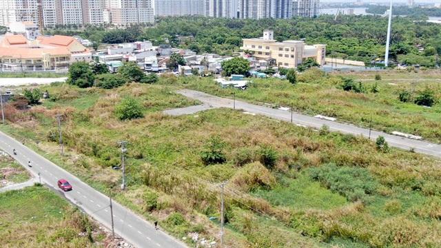 Cận cảnh khu đất 4,3ha ngoài ranh quy hoạch Thủ Thiêm người dân được hoán đổi - Ảnh 16.