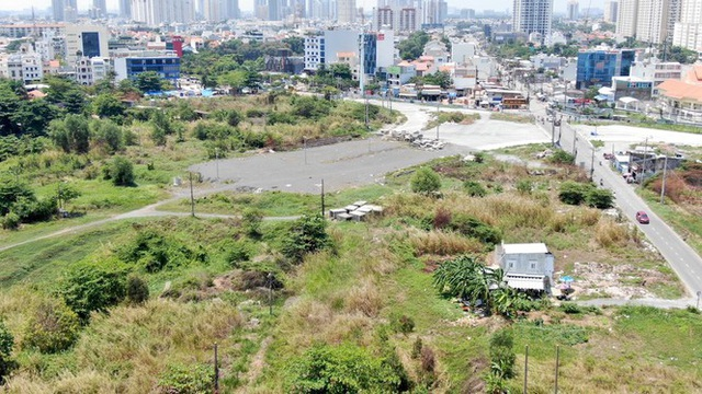 Cận cảnh khu đất 4,3ha ngoài ranh quy hoạch Thủ Thiêm người dân được hoán đổi - Ảnh 17.