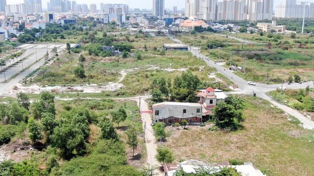 Cận cảnh khu đất 4,3ha ngoài ranh quy hoạch Thủ Thiêm người dân được hoán đổi - Ảnh 5.