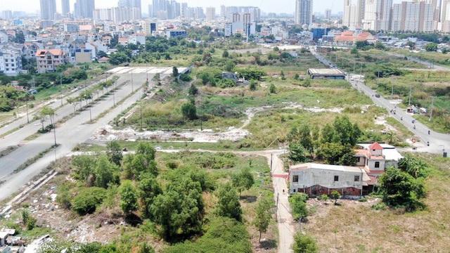 Cận cảnh khu đất 4,3ha ngoài ranh quy hoạch Thủ Thiêm người dân được hoán đổi - Ảnh 6.