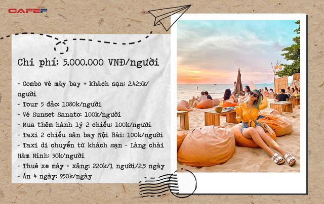 Vi vu khắp mọi ngóc ngách Phú Quốc chỉ với vỏn vẹn 5 triệu VNĐ: Chiêm ngưỡng vẻ đẹp của nơi ngắm hoàng hôn đẹp nhất Việt Nam - Ảnh 9.