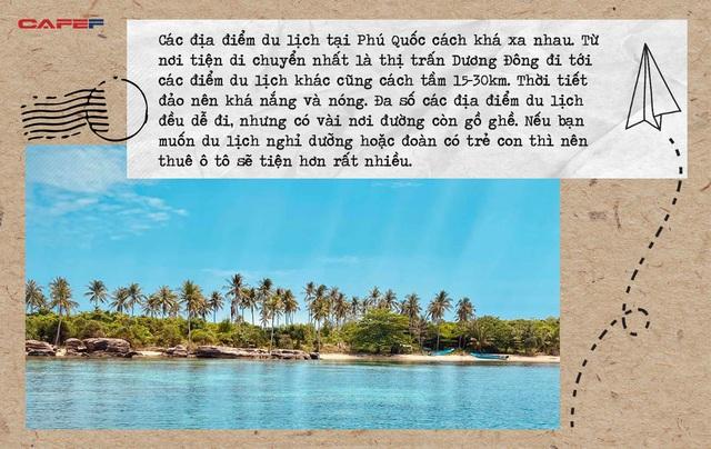 Vi vu khắp mọi ngóc ngách Phú Quốc chỉ với vỏn vẹn 5 triệu VNĐ: Chiêm ngưỡng vẻ đẹp của nơi ngắm hoàng hôn đẹp nhất Việt Nam - Ảnh 1.