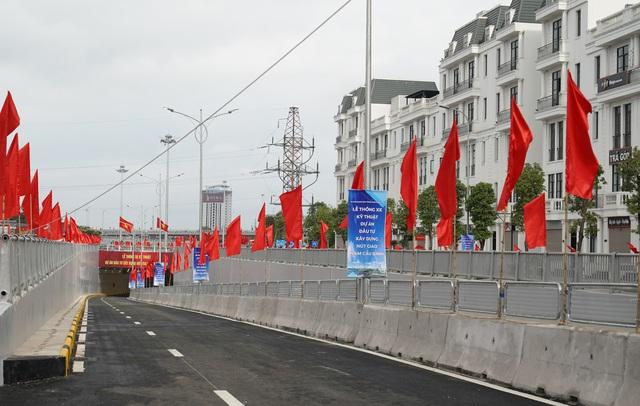 Thủ tướng dự Lễ thông xe kỹ thuật Dự án nút giao Nam Cầu Bính, Hải Phòng - Ảnh 5.