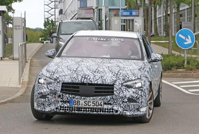 Rò rỉ những hình ảnh đầu tiên của Mercedes-Benz C-Class 2021 - Ảnh 4.