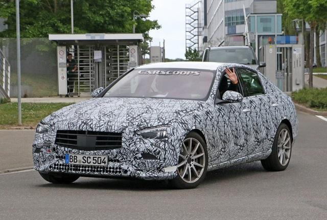Rò rỉ những hình ảnh đầu tiên của Mercedes-Benz C-Class 2021 - Ảnh 5.