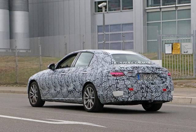 Rò rỉ những hình ảnh đầu tiên của Mercedes-Benz C-Class 2021 - Ảnh 8.