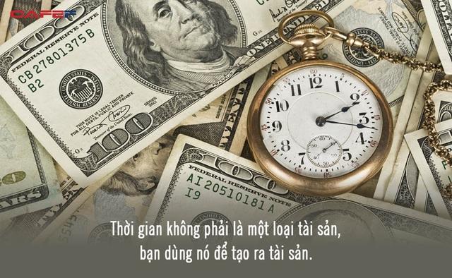 Người giàu không sử dụng thời gian như một loại tiền tệ: Chỉ 5 phút suy nghĩ thấu đáo, bạn sẽ thoát khỏi 10 năm chật vật với đời - Ảnh 2.