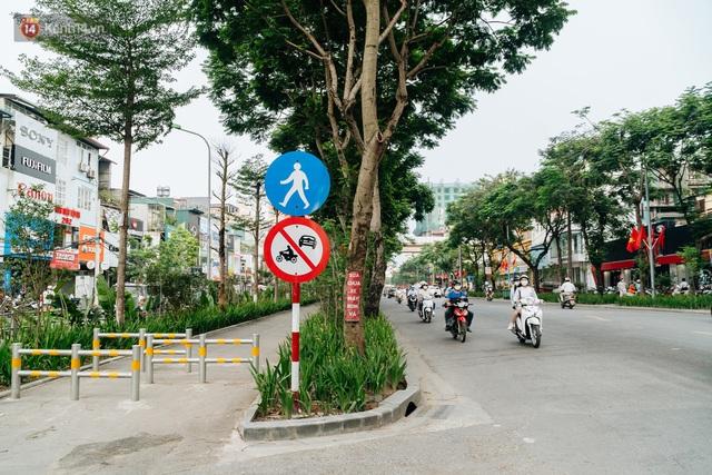 Ảnh, clip: Từ con mương ngập ngụa rác thải đến tuyến đường bộ cực xanh mát giữa lòng Thủ đô - Ảnh 3.