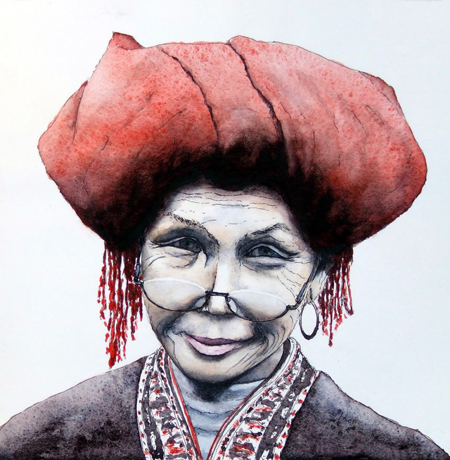 Bộ tranh đẹp quá Việt Nam ơi được vẽ bởi họa sĩ người Pháp, cộng đồng mạng quốc tế thích thú ngắm nhìn một nơi bình dị, an yên nhưng rất tươi đẹp - Ảnh 3.