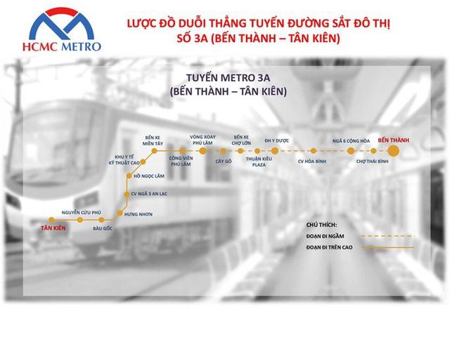 TP HCM đề xuất dự án đầu tư xây dựng tuyến metro gần 68.000 tỉ đồng - Ảnh 1.