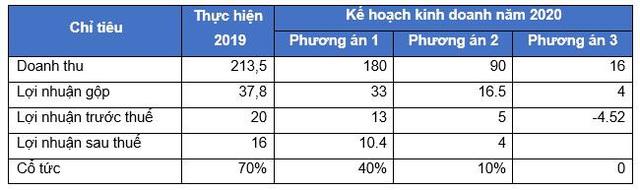 Vinexad (VNX): Năm 2019 dự kiến trả cổ tức 70%, lên 3 kịch bản kinh doanh cho năm 2020 - Ảnh 2.
