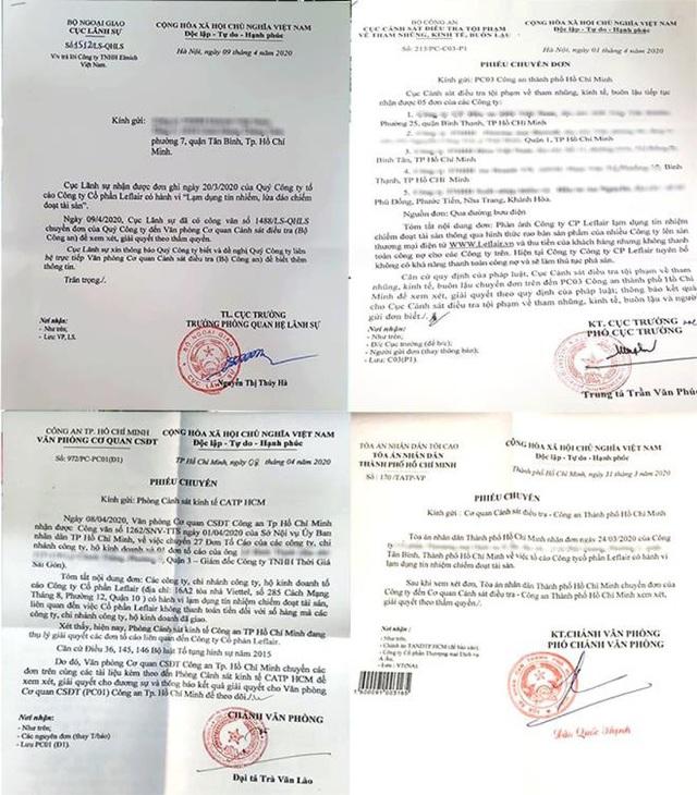 Lùm xùm Leflair: Cục CSĐT, Cục Lãnh sự, toà án đồng loạt tiếp nhận đơn tố cáo  - Ảnh 2.