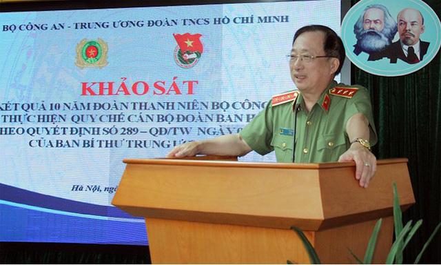 Ba Bí thư Đoàn Bộ Công an được bổ nhiệm Phó Giám đốc Công an tỉnh - Ảnh 1.