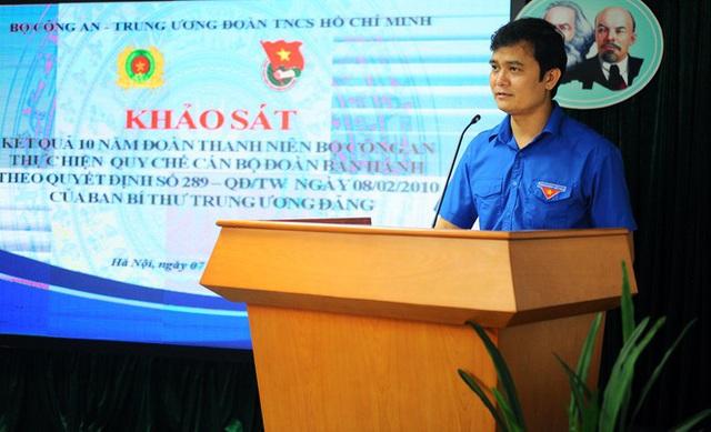 Ba Bí thư Đoàn Bộ Công an được bổ nhiệm Phó Giám đốc Công an tỉnh - Ảnh 2.