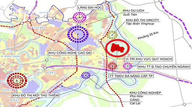 Khu Đông Sài Gòn - dự kiến được thành lập thành phố hiện đang có gì? - Ảnh 3.