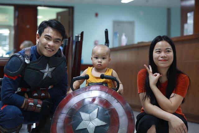 Món quà đặc biệt dịp 1/6 của biệt đội Siêu anh hùng không giải cứu thế giới dành cho bệnh nhi ung thư và chạy thận  - Ảnh 13.