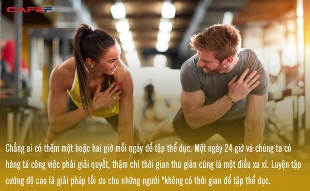 Không quan trọng bạn tập thể dục trong bao lâu, quan trọng là bạn đặt bao nhiêu quyết tâm ở đó - Ảnh 1.