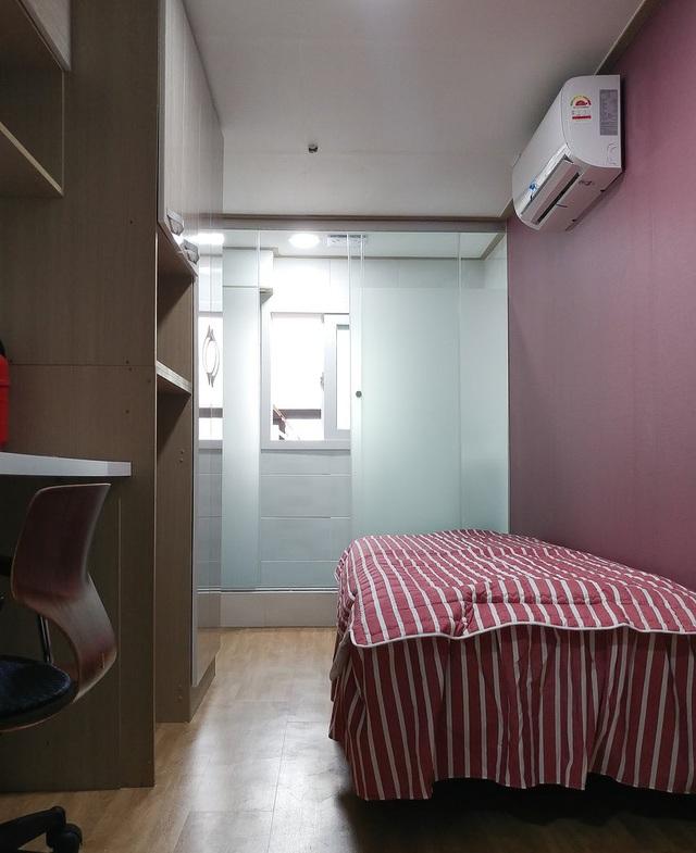 Những căn phòng tí hon chỉ 3 - 6m² nhưng chẳng thiếu thứ gì ở Hàn Quốc và Nhật Bản: Xu hướng thiết thực và được ưa chuộng của giới trẻ - Ảnh 9.