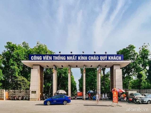 Cầm 4.000 đồng đổi lấy 1 ngày tham quan công viên Thống Nhất, nơi mà người Hà Nội đang dần lãng quên và phát hiện bên trong có nhiều thứ xưa nay đâu có ngờ - Ảnh 1.