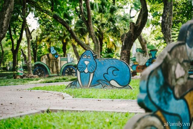 Cầm 4.000 đồng đổi lấy 1 ngày tham quan công viên Thống Nhất, nơi mà người Hà Nội đang dần lãng quên và phát hiện bên trong có nhiều thứ xưa nay đâu có ngờ - Ảnh 30.