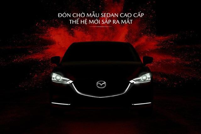 Mazda6 2020 tại Việt Nam úp mở trước giờ G, mẫu cũ 'xả kho' ưu đãi 65 triệu đồng - Ảnh 1.