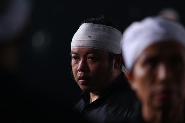 [Ảnh] Xúc động, nghiêm trang lễ tang người thầy của những nhà tình báo huyền thoại Trần Quốc Hương - Ảnh 24.